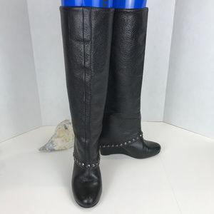 BCBG Black Boots Sz 6